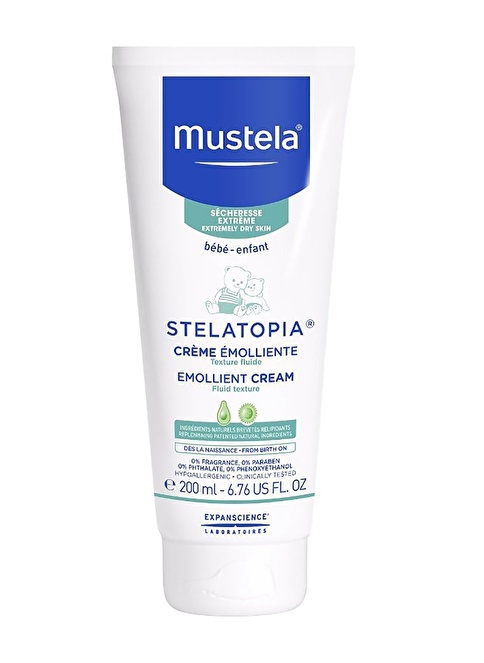 Mustela Stelatopia Emolliant 200 Ml Renksiz